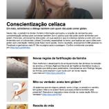 Newsletter – Glúten, Contém Informação – Maio