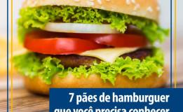 7 tipos de pão de hamburger que você precisa conhecer