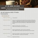Seminário Cafeteria – 07 de Abril de 2016