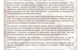 Newsletter 07/2016 – Seminário Pães Especias São Paulo