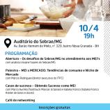 Seminário MEI Alimentos e Bebidas – Belo Horizonte/MG