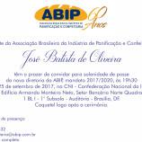 Convite Posse Mandato 2017/2020
