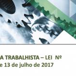 Reforma Trabalhista, Lei  13.467 de 13 de julho de 2017.
