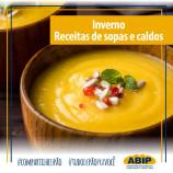 40 receitas de sopas, caldos e caldinhos para espantar o frio