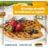 40 receitas de waffle saborosos para um lanche diferente do comum