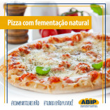 Pizza com fermentação natural