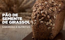 Pão de semente de girassol: leve e equilibrado