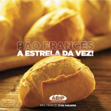 Peças 16 de novembro: Todo dia é dia de comer pão francês, mas dia 16 é especial!