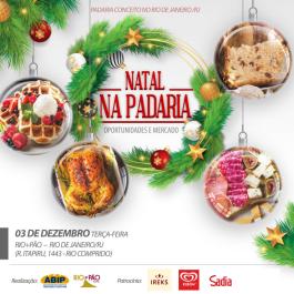 Padaria Conceito no RJ: Natal na Padaria é o tema do evento