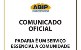 COMUNICADO OFICIAL ABIP