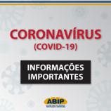 Informações importantes sobre o Coronavírus