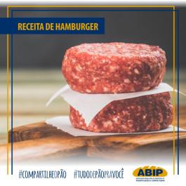 Receita de Hambúrguer caseiro fácil e rápido do chef. Pedro Cavalcanti.