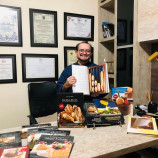 Chef do sabor, Luiz Farias, faz livros para compartilhar conhecimento
