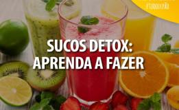 Receitas de sucos refrescantes e detox, para o pós-Carnaval