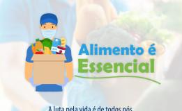 Baixe material da campanha #AlimentoéEssencial