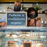 Padarias e Confeitarias reforçam protocolos de saúde para atendimentos mais seguros