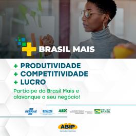 Abip se torna parceira do Programa Federal Brasil Mais