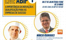 Reserve a agenda: tem Live Abip + em Julho