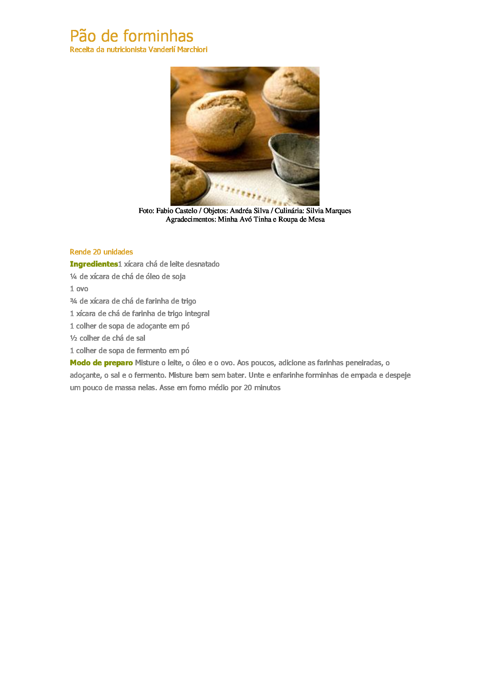 Pão-de-forminhas