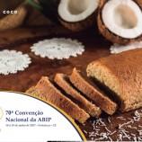 Pão de Coco – Receita lançada na 70ª Convenção Nacional ABIP