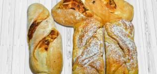 Pães 71ª Convenção ABIP: socol com abacaxi e pão brioche de cappuccino