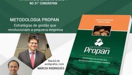 Márcio Rodrigues lança livro no 31º Congrepan